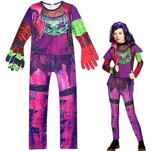 Descendants 3 Audrey Mal Kostüme Mädchen Karneval Cosplay Overall Weihnachten DE