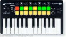 NOVATION LAUNCHKEY MINI MK2 -  25 KEY MIDI KEYBOARD CONTROLLER, ABLETON Auth DLR
