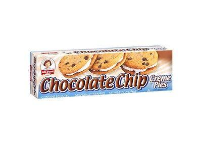 Little Debbie Chocolate Chip Creme Pies Snack 8 Pies 9.7oz Box