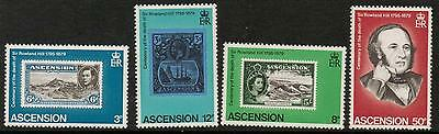Stamps Impartial Ascension Sg254/7 1979 Rowland Hill Mnh