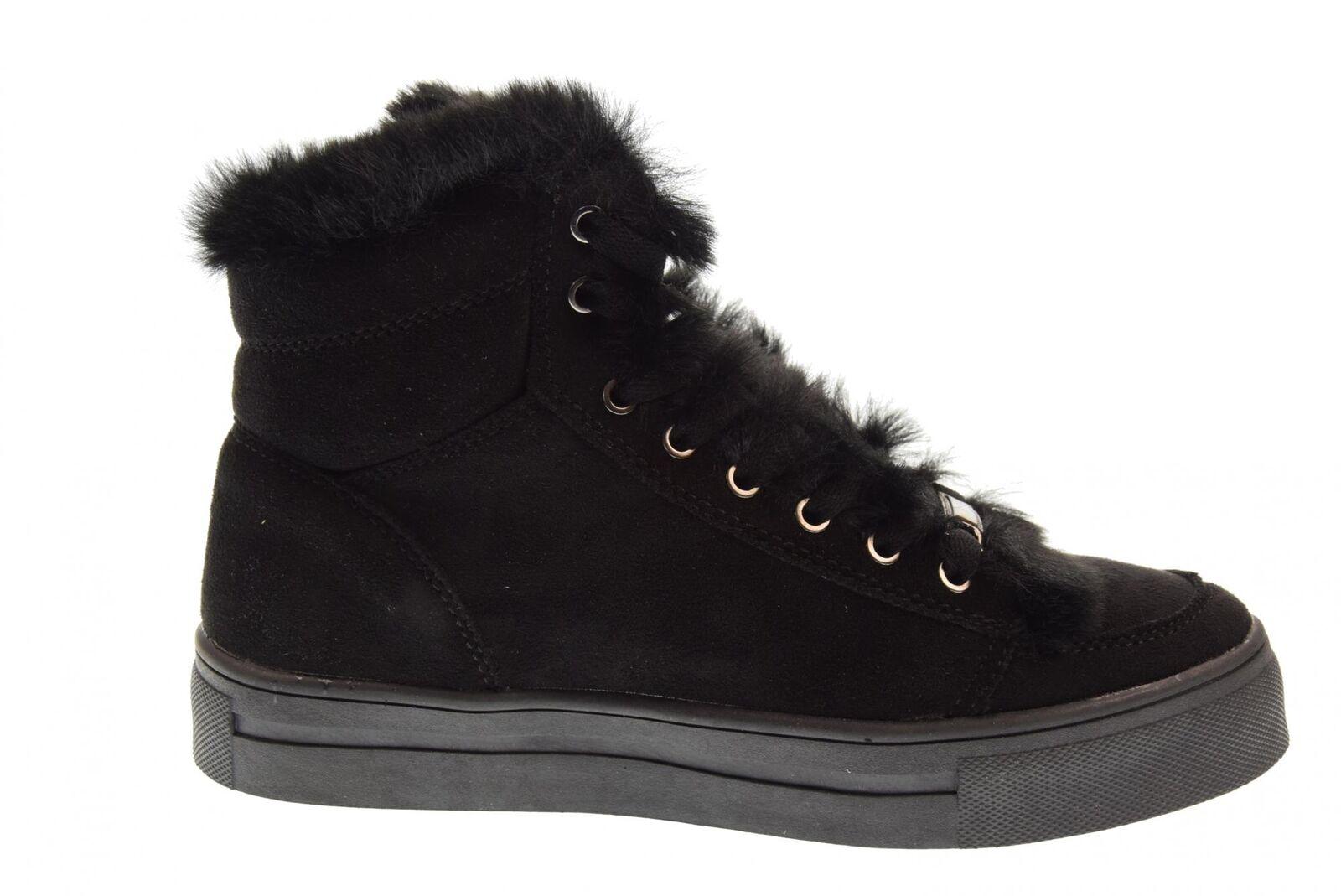 B3d Schuhes A18g A18g A18g Schuhe Frau Turnschuhe hoch 41542 schwarz 3161df