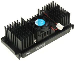 CPU Intel Pentium II SL265 266MHz 512KB + Refroidisseur