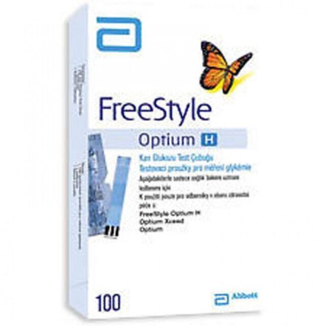 Buy Abbott Freestyle Optium Blood Glucose 100 Test Strips Online Ebay