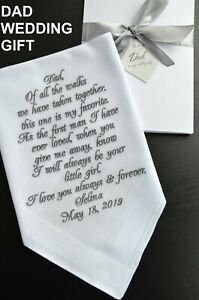 father of bride gift wedding gift Father of the bride wedding gift for dad, gift from bride father of the bride gift gift for dad