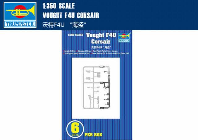 VOUGHT F4U CORSAIR 1/350 aircraft Trumpeter model plane kit 06209