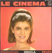 SHEILA Le Cinema FR Press Philips 437 205 Mono EP