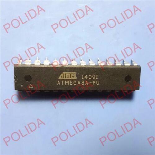 10PCS Microcontrôleur Unit IC ATMEL DIP-28 ATMEGA 8A-PU ATMEGA 8 un
