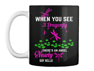 Dragonfly-Angel-S-When-You-See-A-There-039-s-An-Nearly-Say-Hello-Gift-Coffee-Mug