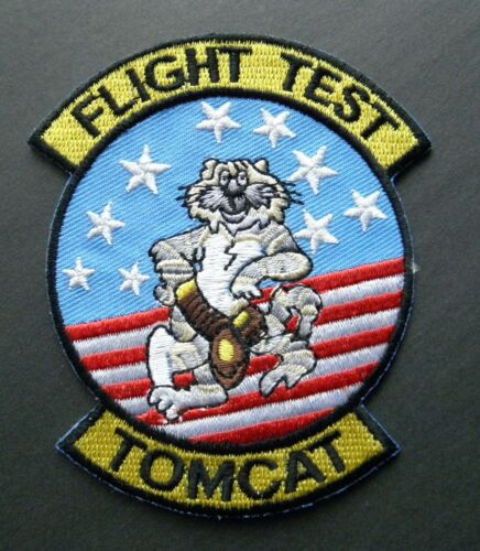 FLIGHT TEST TOMCAT BABY EMBROIDERED PATCH 3.25 INCHES