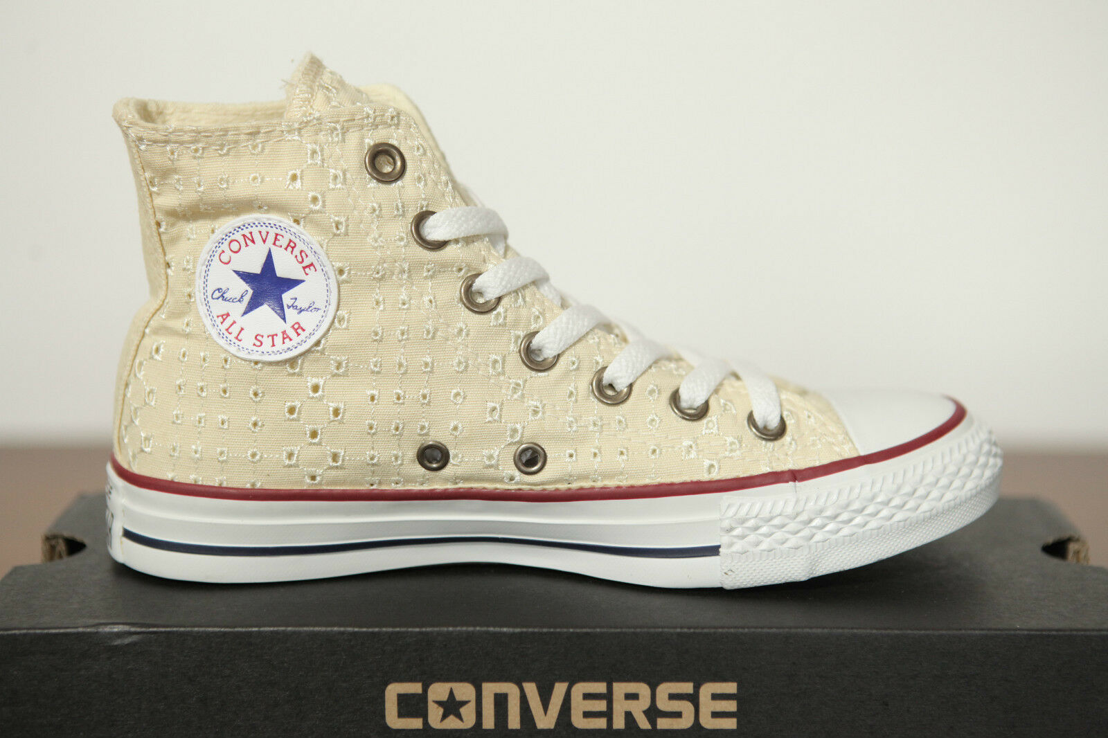 NUEVO ALL STAR CONVERSE CHUCKS HI Ojal 542538c Zapatillas HIGH TOP T. 37GB 4,5
