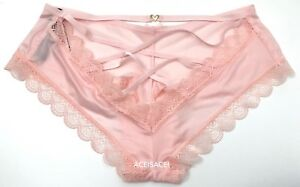 1d5711f51d3 NWT   VICTORIA S SECRET VERY SEXY LACE-UP RING CHEEKY PANTY---LIGHT ...
