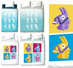 Official-FORTNITE-Licensed-Duvet-Covers-Single-Double-Emotes-LLama-Bedding