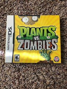 PLANTS-VS-ZOMBIES-NINTENDO-DS-BRAND-NEW-FACTORY-SEALED-Free-shipping