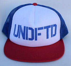 720bd188 Image is loading UNDFTD-Undefeated-Trucker-Mesh-Baseball-Cap-Hat-Adjustable-
