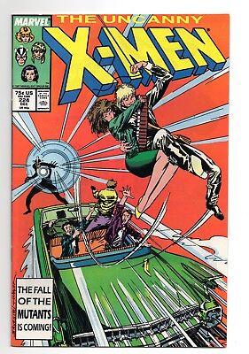 Marvel Comics 1986 Mutant Massacre Direct The Uncanny X-MEN #210 F//VF