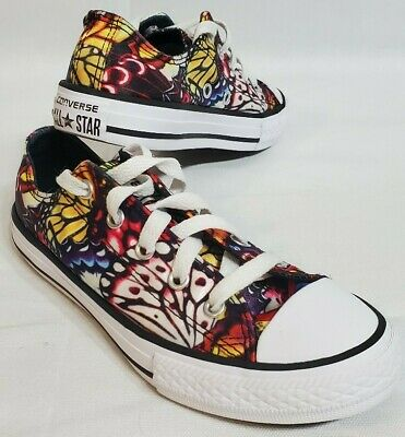 Converse All Star Lows Butterfly Print