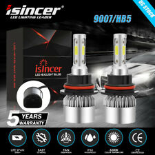 NIGHTEYE 9007 HB5 LED Headlight Kit Car Lamp 10000LM Hi//Lo Beam 6500K Bulbs