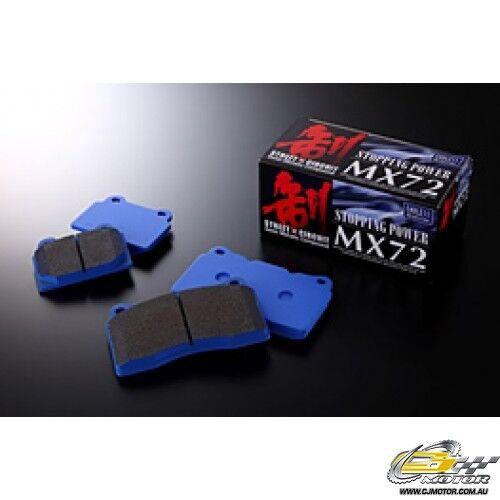 ENDLESS MX72 F&R SET FOR Accord CF4 (F20B) EP270+EP312