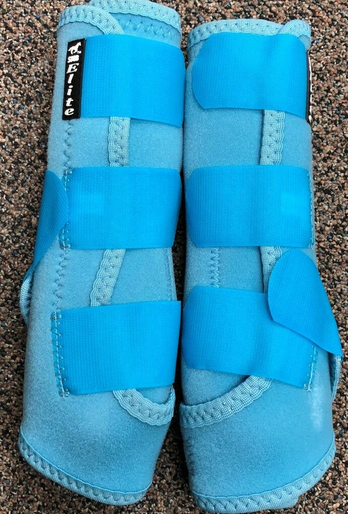 Professional  Choice® SMB Elite Sport Med Boots Rear Large Turquoise – 2 Pk NEW  floor price
