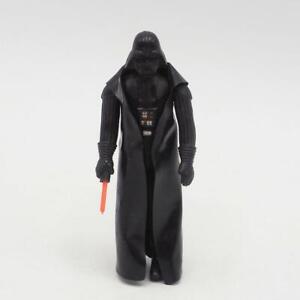 Vintage Star Wars Darth Vader Action Figure w/ Cape & Lightsaber Weapon