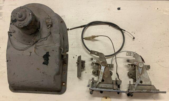 1957 FORD Fairlane Custom 300 Ranchero Heater Motor Control Parts Cable
