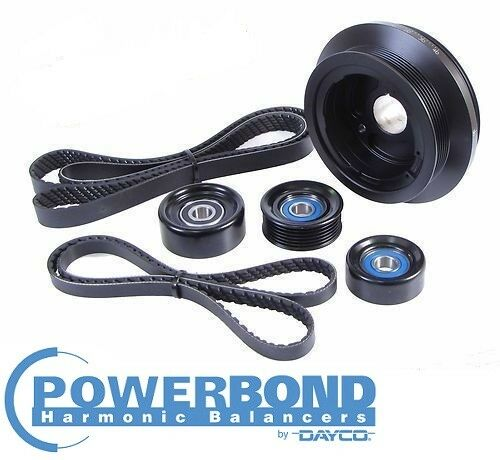 POWERBOND 25% UNDERDRIVE POWER PULLEY KIT FOR HOLDEN L76 L98 6.0 V8 TILL 08/2010