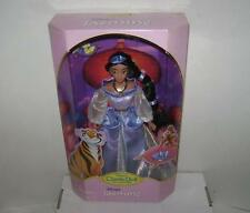 DISNEY STORE ONLY ALADDIN * JASMINE DOLL * CLASSIC COLLECTION W RAJAH 1990'S