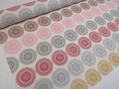Holiday Camper Psychédélique Mandala lumineux en tissu de coton rideau ameublement