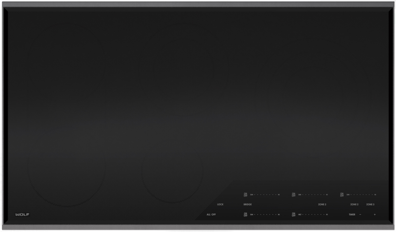 Electric Cooktop 240 Volts 5 Radiant
