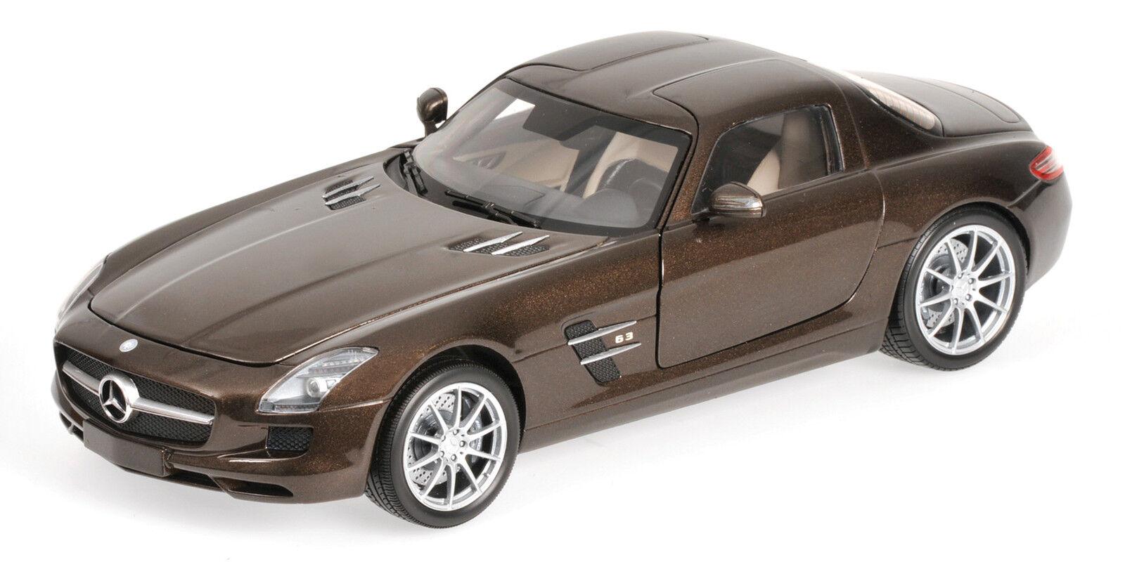 Minichamps Mercedes-Benz SLS AMG 2010 1 18 metallic marron (MCC)