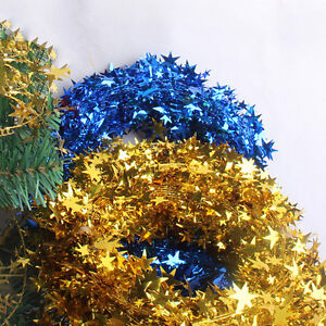 Arbre-de-Noel-accrochant-le-pin-guirlande-Star-fete-decor-ornement