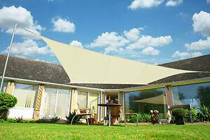 Kookaburra-Ivory-Shade-Sail-Sun-Canopy-Garden-Patio-Awning-98-UV-amp-Waterproof