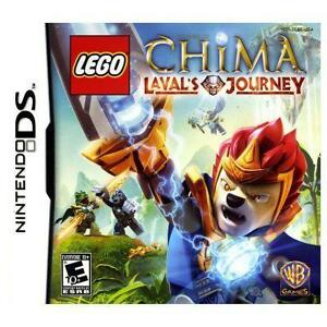 LEGO Legends of Chima Laval's Journey Nintendo DS complete kids game 2DS 3DS