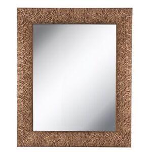 Extra Large Wall Mirrors extra large wall mirror oversize hammered copper framed mirror 35