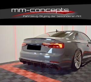 Cup-Diffusor-Ansatz-Audi-S5-F5-A5-S-Line-Heckansatz-Heck-Splitter-Racing-DTM-ABS