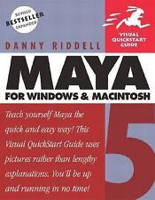 Maya 5 for Windows & Macintosh (Visual QuickStart Guide)-ExLibrary