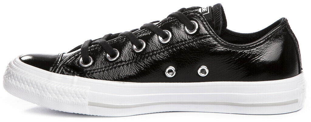 CONVERSE Chuck Taylor All Star Patent Patent Patent Leather 558002C Sneakers shoes Womens New 84ff7f
