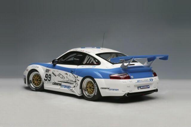 1:18 Autoart Porsche 911 996 gt3 rsr mugello 2006 nuevo New