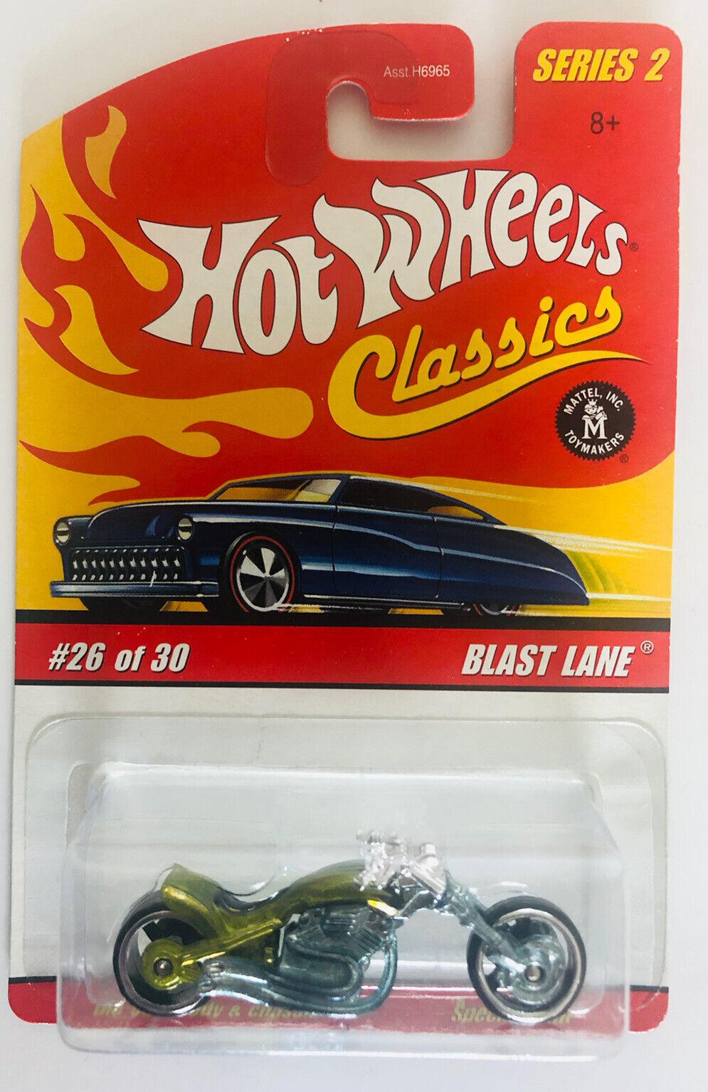2005 Hot Wheels Classics Series 2 Blast Lane Green #26