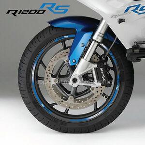 R1200rs Motorcycle Wheel Decals Rim Stickers Set Stripes R1200 Rs