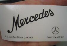 OEM Mercedes Benz Windshield Decal Sticker A0045847438