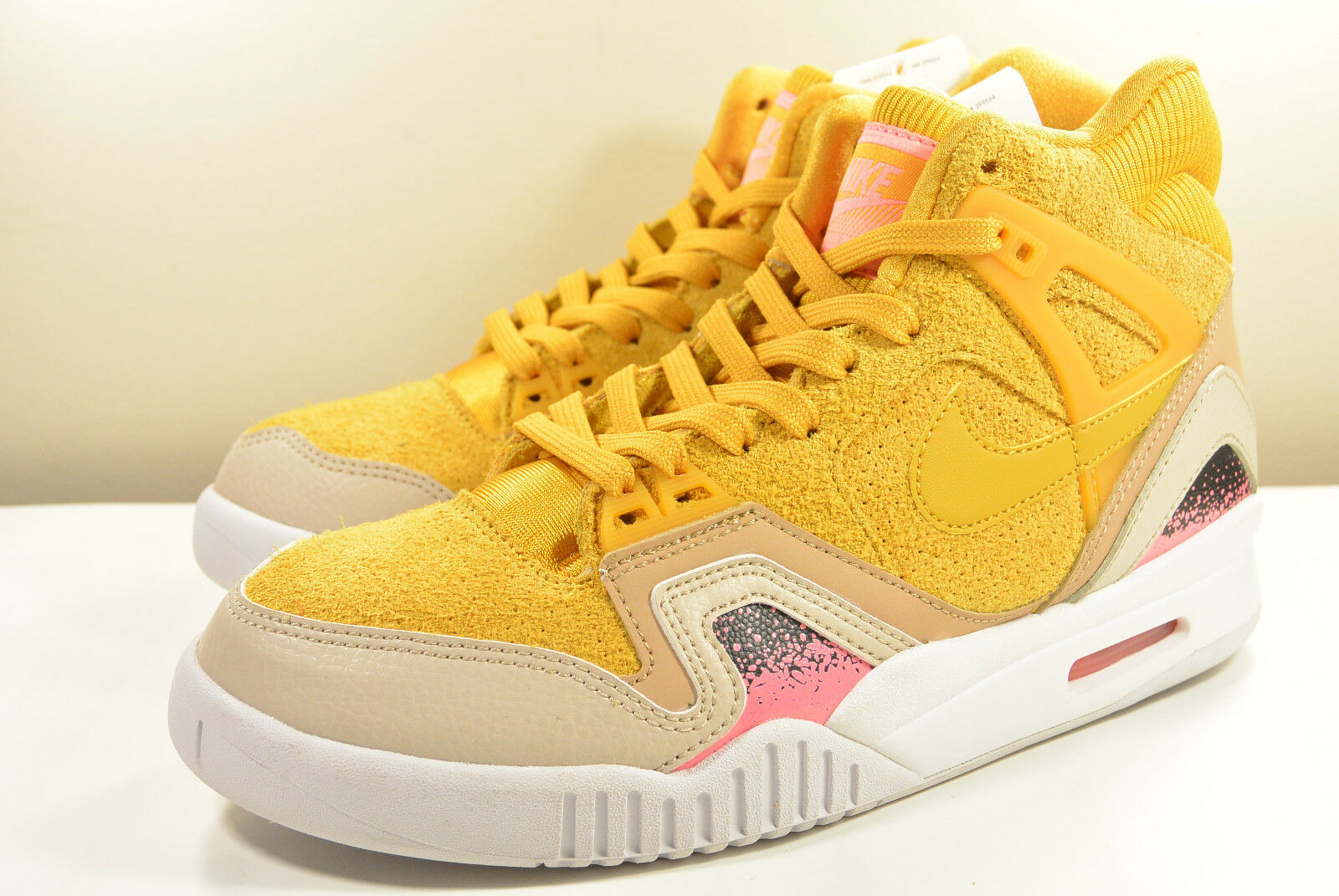 DS NIKE 2016 SAMPLE AIR TECH CHALLENGE GOLD II GOLD CHALLENGE DART 7 AGASSI MAX TRAINER COURT 34a370