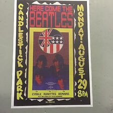 THE BEATLES - CONCERT POSTER SAN FRANCISCO U.S.A. MONDAY 29TH AUGUST (A3 SIZE)