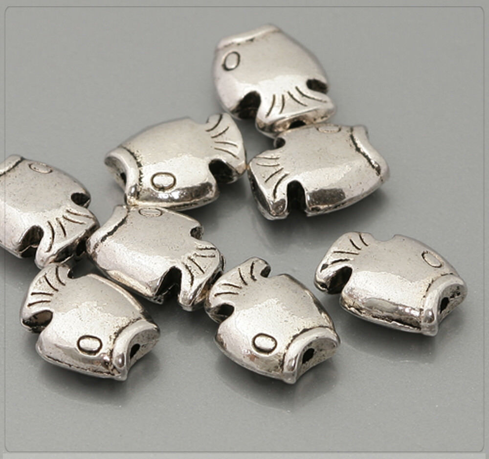 4x Metall Anhänger Charm Elfe Fee für Schmuck DIY bronze 12x25mm mb1396