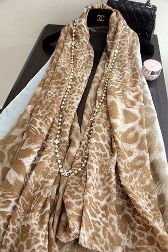 Women Spring Multicolour Cotton Chiffon Lady Long Wrap Scarves Shawl Stoles