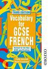 Vocabulary for GCSE French by Philip Horsfall, David Crossland (Paperback, 2001)