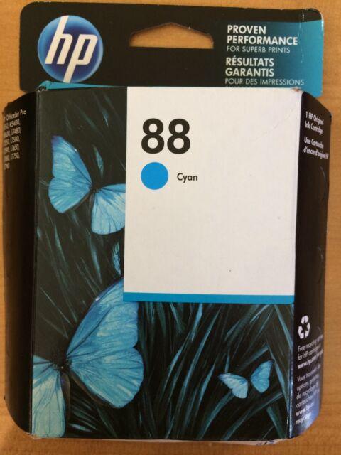 HP 88 Cyan Ink Cartridge. Brand New. 07/2020