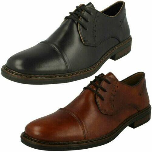 Hombre Rieker Zapatos con Cordones Estilo Formal '17617'