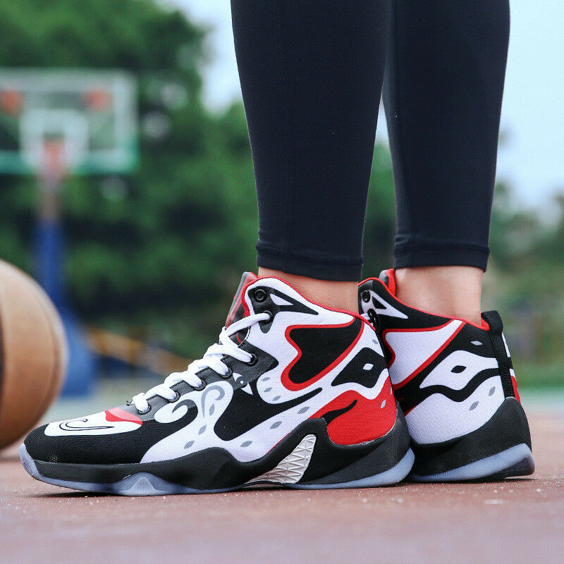 2018 Men's Basketball shoes Athletic Casual Running Trainers Breathable Sneakers