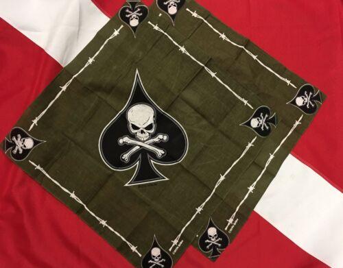 DEATH SPADE bandanas disaster tactical survival gift idea  you get 2   # 4031